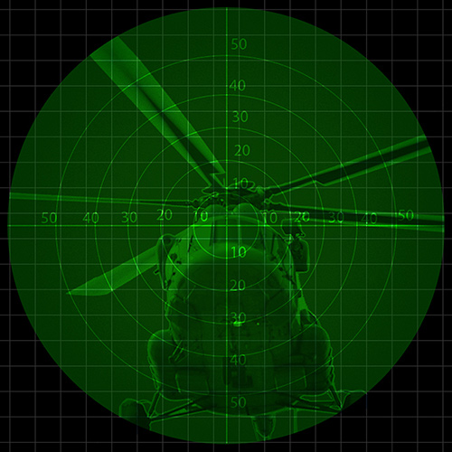 Night vision NVIS LCD display
