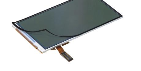 LCD display tape bond representation