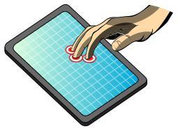 Touchscreen touch sensor technology