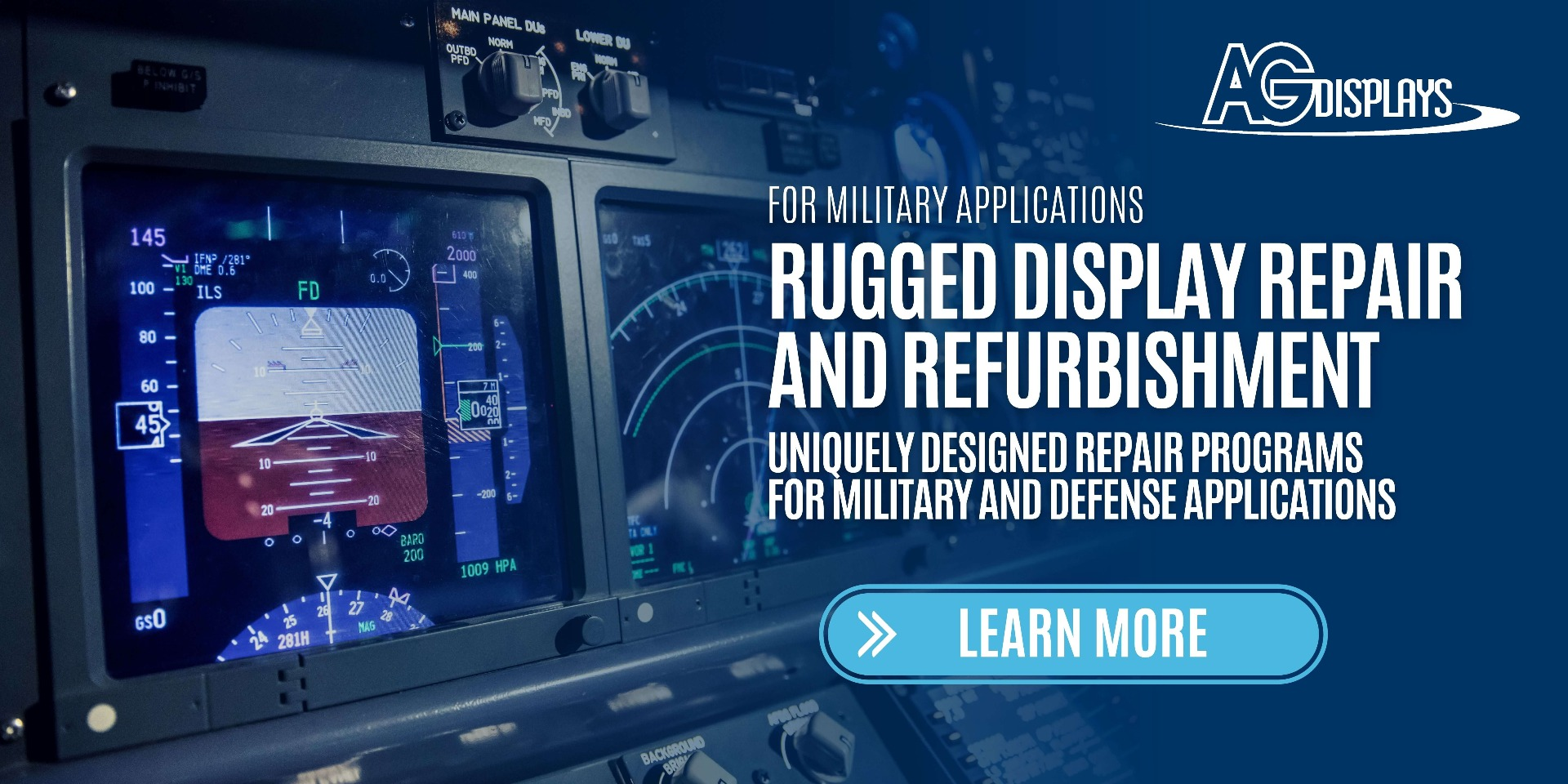 LCD Repairs for Military Applications