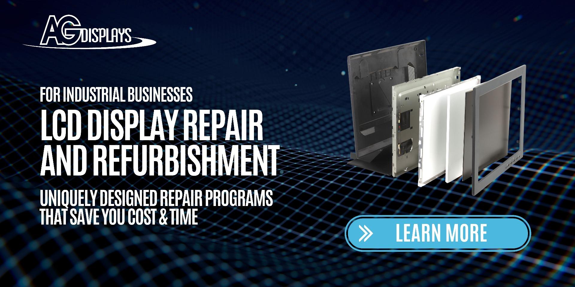 LCD industrial Repair