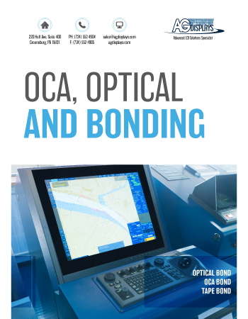 AGDisplays OCA, Optical and Bonding