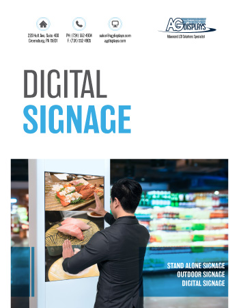 AGDisplays Digital Signage