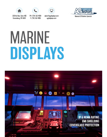 AGDisplays Marine Displays