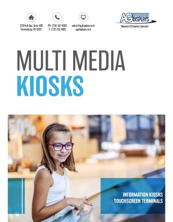 AGDisplays Multi Media Kiosks