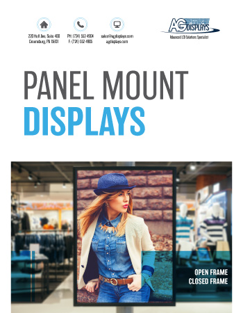 AGDisplays Panel Mount Displays