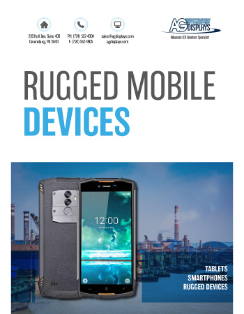 AGDisplays Rugged Mobile Devices