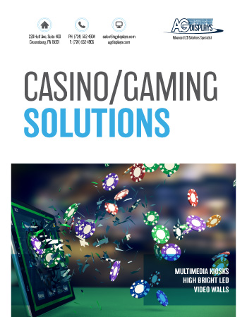 AGDisplays Casino/Gaming Solutions