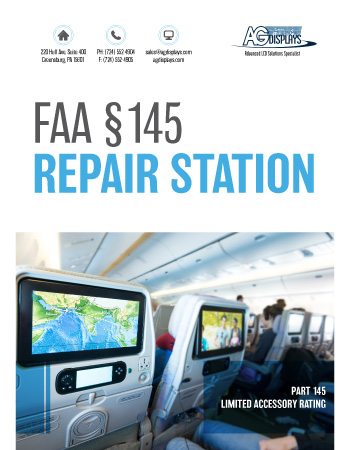AGDisplays FAA Part 145 Repair Station