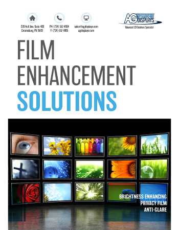 AGDisplays Film Enhancement Solutions