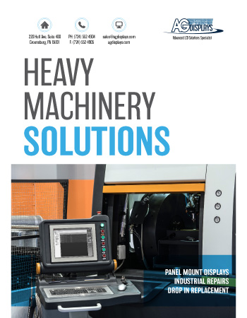 AGDisplays Heavy Machinery Solutions