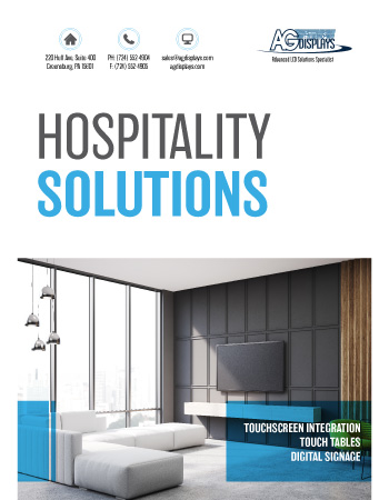 AGDisplays Hospitality Solutions