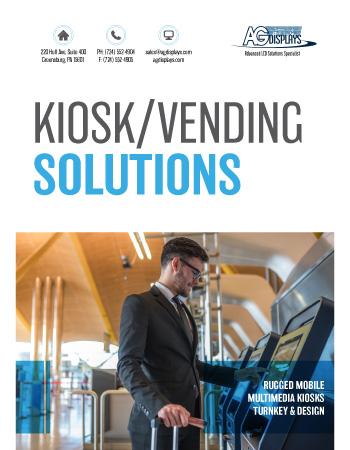 AGDisplays Kiosk/Vending Solutions