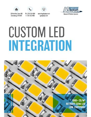 AGDisplays Custom LED Integration