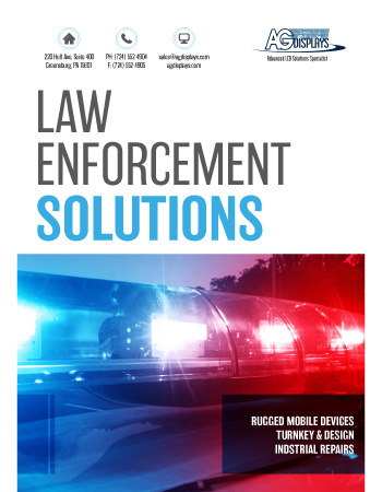 AGDisplays Law Enforcement Solutions