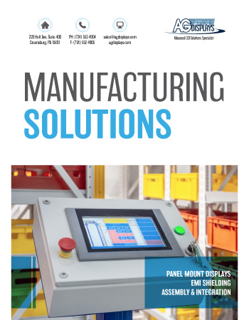 AGDisplays Manufacturing Solutions