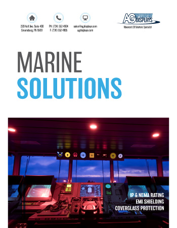 AGDisplays Marine Solutions
