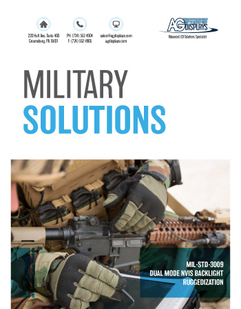AGDisplays Military Solutions