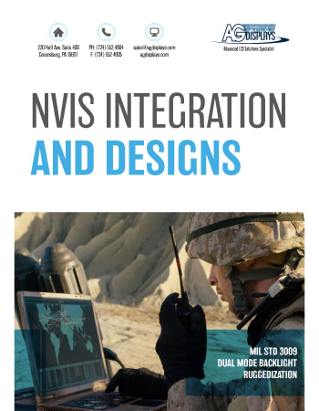 AGDisplays NVIS Integration and Designs