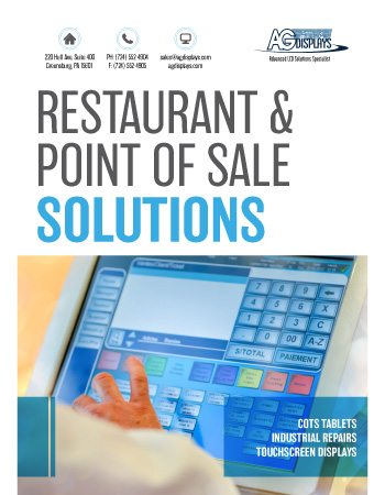 AGDisplays Restaurant & Point of Sale Solutions