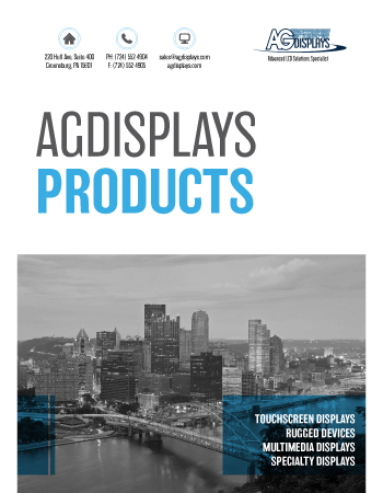 AGDisplays Products Overview