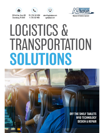 AGDisplays Logistics & Transportation Solutions