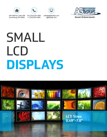 Small LCD Products
