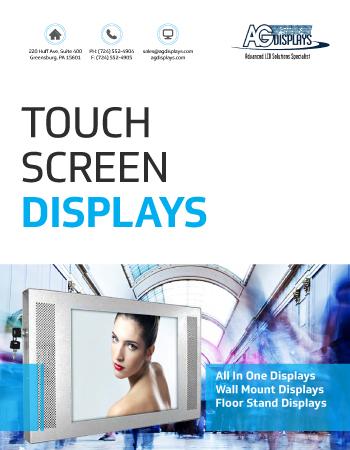 Touchscreen-Displays
