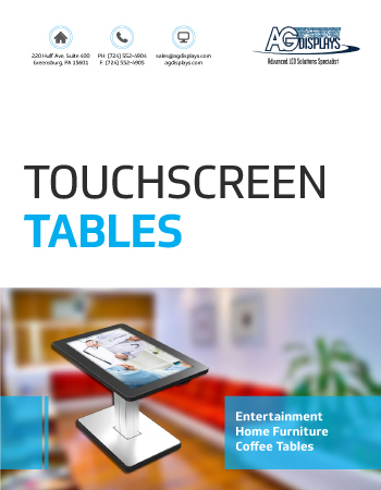 Touchscreen-Tables