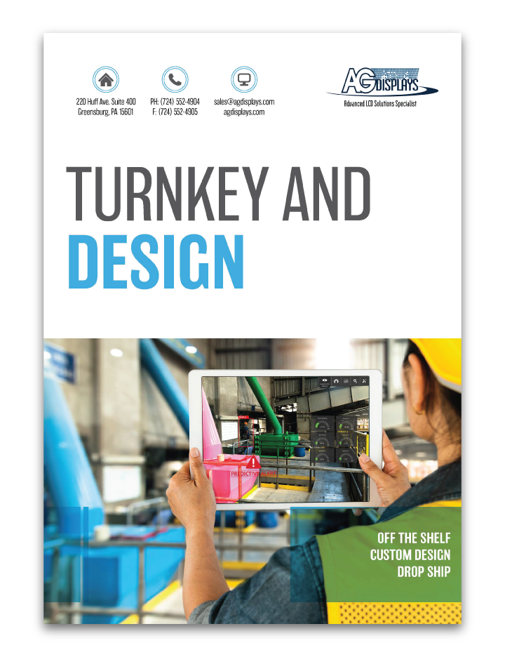 turnkey and design for custom lcd integrations industrial transportation ebook