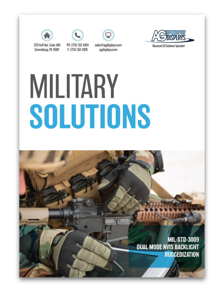 rugged military lcd display solutions pdf