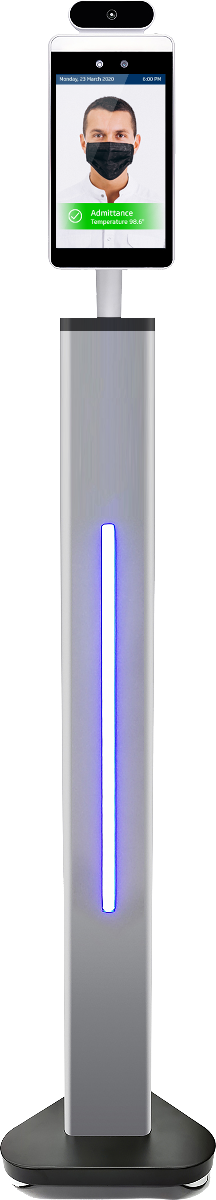 instant read contactless thermometer smartphone